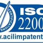 ISO 22000:2005 Haccp Gıda Güvenliği Yönetimi